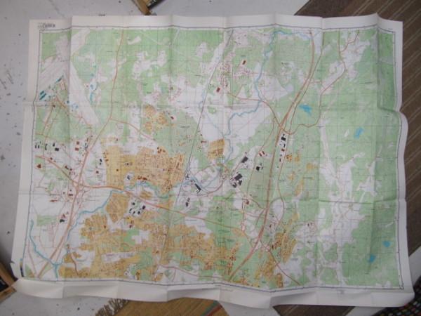 Miehityskartta Helsinki lehti 2/6 1:10.000 (alue Hki-Vantaa lentokenttä - Tammisto - Hakunila - Isokivi, Koivula),