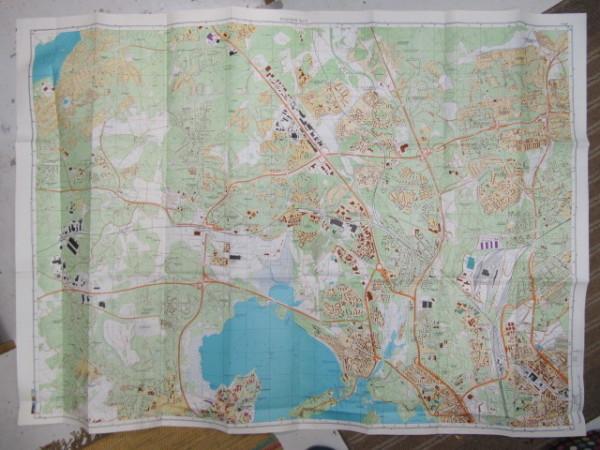 Miehityskartta Helsinki lehti 3/6 10:000 1989 (alue Laaksolahti, Juuperi - Mankkaa, Pohjois-Tapiola - Alppiharju, Vallila - Tuomarilankylä,