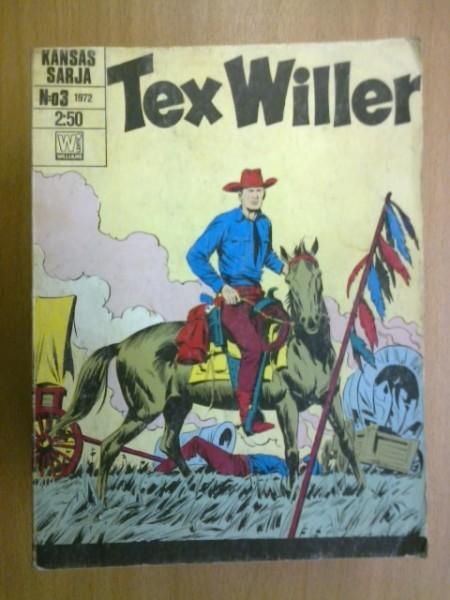 Tex Willer 1972 N:o 3,