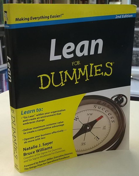 Lean For Dummies, 2nd Edition, Natalie J. Sayer