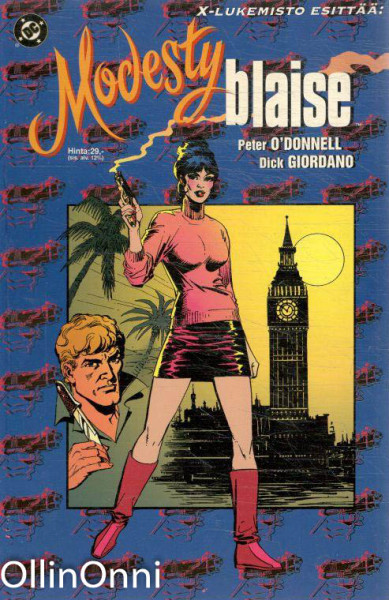 Modesty Blaise, Peter O'Donnell