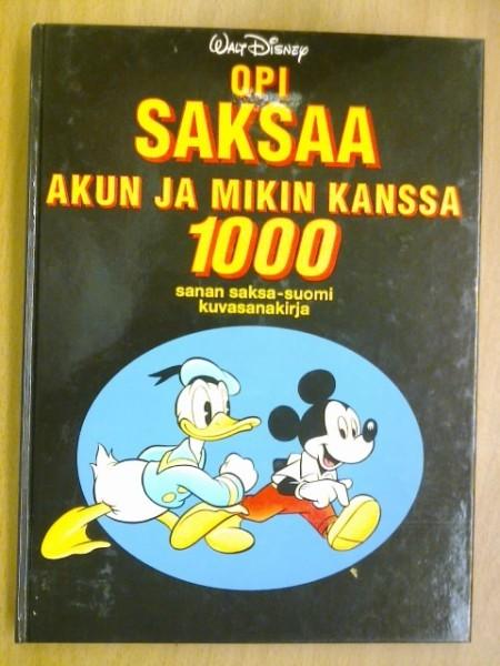 Opi saksaa Akun ja Mikin kanssa, Walt Disney