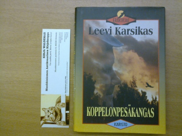 Koppelonpesäkangas, Leevi Karsikas