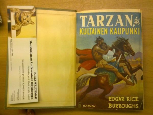 Tarzan ja kultainen kaupunki, Burroughs Edgar Rice