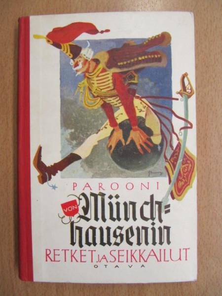 Parooni von Münchhausenin retket ja seikkailut,