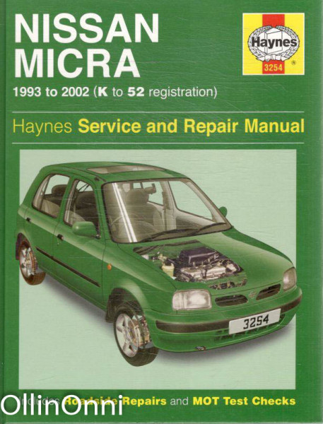 Nissan Micra 1993 ti 2002 (K to 52 registration), A.K. Legg