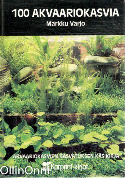 100 akvaariokasvia, Markku Varjo