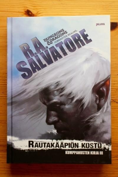 Rautakääpiön kosto, R. A. Salvatore