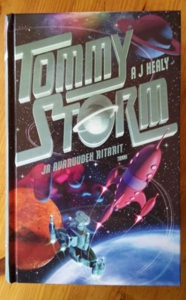 Tommy Storm ja avaruuden ritarit, A. J. Healy