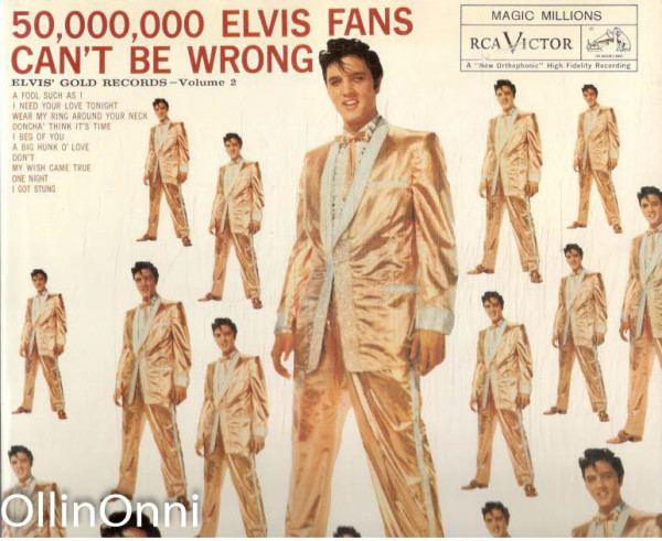 50,000,000 Elvis fans can't be wrong - Elvis the Ultimate Album Cover Book, Paul Dowling