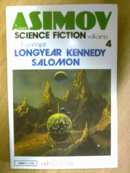 Isaac Asimov science fiction valikoima 4, Isaac Asimov