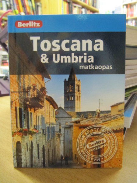 Toscana & Umbria matkaopas - Berlitz,
