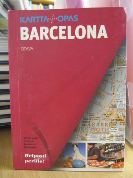 Karttaopas Barcelona,
