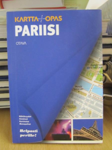 Karttaopas Pariisi,