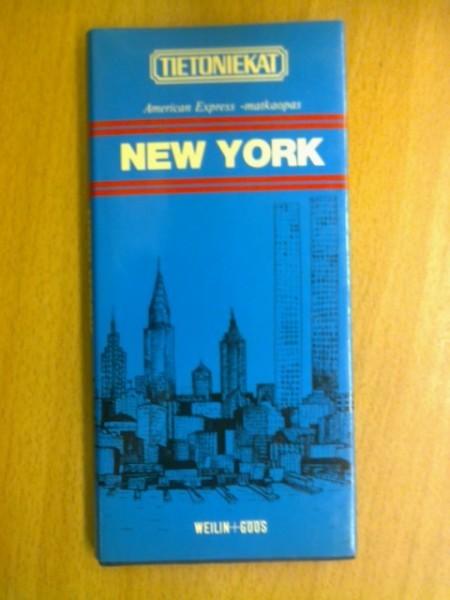 American express -matkaopas New York (Tietoniekat),