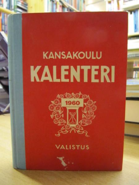 Kansakoulukalenteri 1960. Liite: Aakkosellinen luettelo - Suomen kansakoulujen opettajisto lv. 1959-60.,
