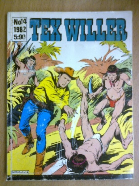 Tex Willer 1982 No 14,