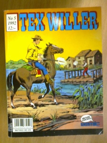 Tex Willer 1992 N:o 5,