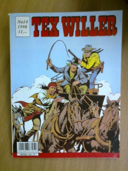 Tex Willer 1990 N:o 14,
