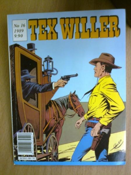 Tex Willer 1989 N:o 16,