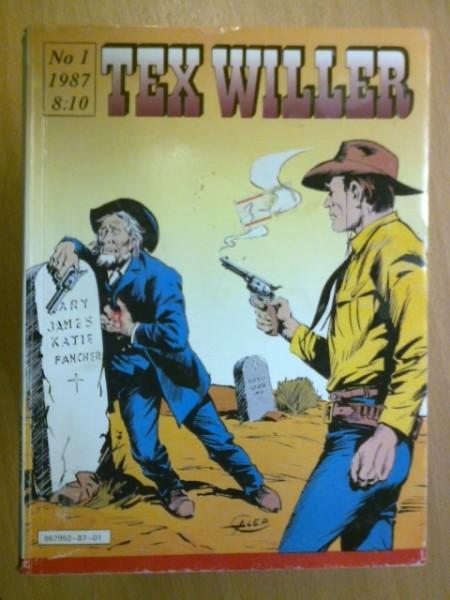 Tex Willer 1987 N:o 1,
