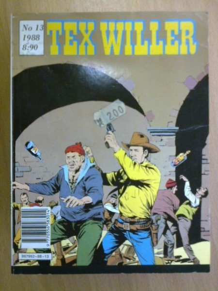 Tex Willer 1988 N:o 13,