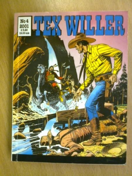 Tex Willer 2001 N:o 4,