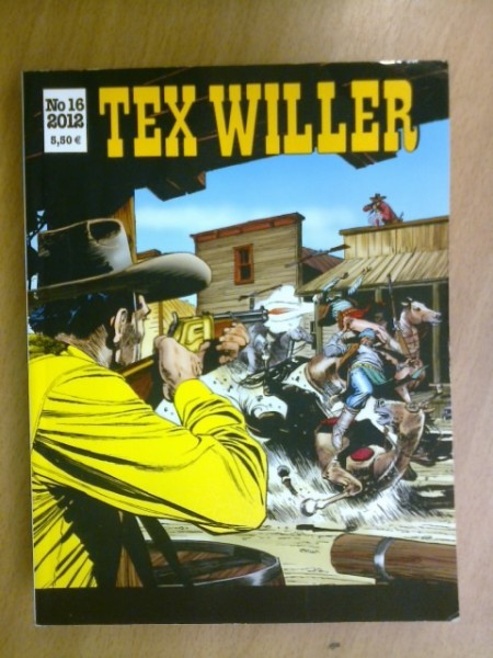 Tex Willer 2012 N:o 16,