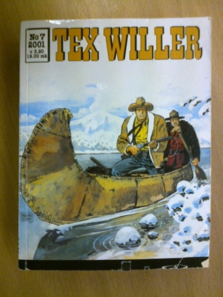 Tex Willer 2001 N:o 7,