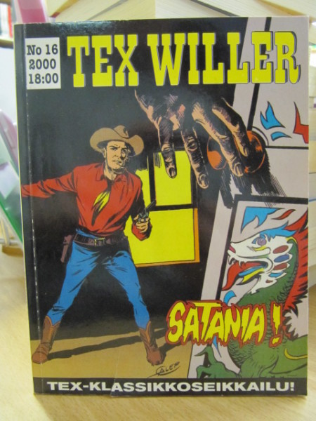 Tex Willer 2000 N:o 16,