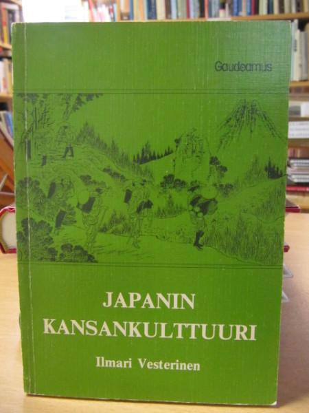 Japanin kansankulttuuri : kulttuuriantropologinen johdatus, Ilmari Vesterinen