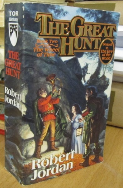 The Great Hunt - Book Two of The Wheel of time, Robert Jordan