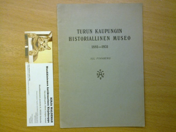 Turun kaupungin historiallinen museo 1881-1931, Jul Finnberg