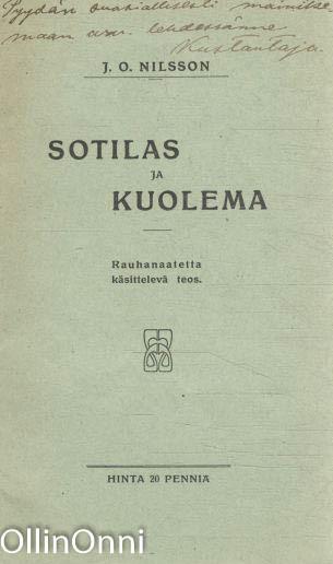 Sotilas ja kuolema, J.O. Nilsson