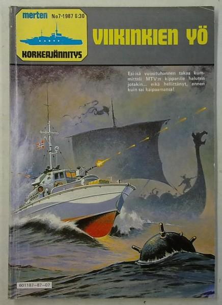 Merten Korkeajännitys 1987-07 Viikinkien yö,