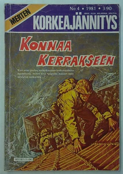Merten Korkeajännitys 1981-04 Konnaa kerrakseen,