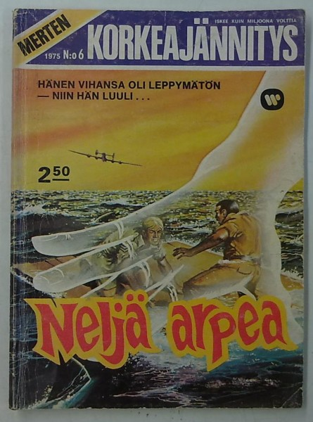 Merten Korkeajännitys 1975-06 Neljä arpea,