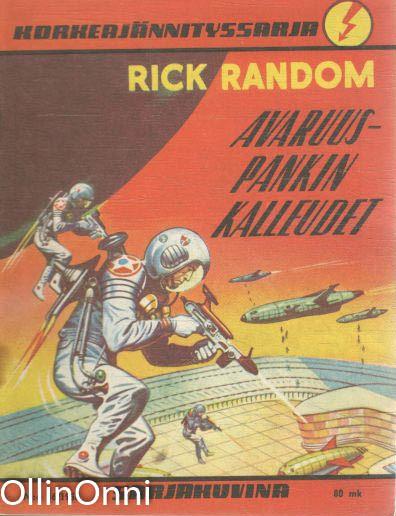 Korkeajännityssarja N:o 16/1958 - Rick Random - Avaruuspankin kalleudet, M. Eerikäinen