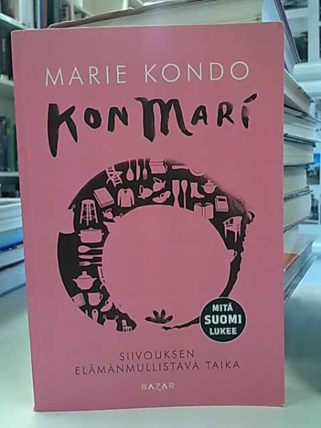 KonMari : siivouksen elämänmullistava taika, Marie Kondo