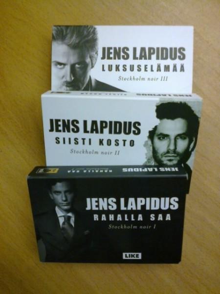 Stockholm noir I-III - Rahalla saa, Siisti kosto, Luksuselämää, Jens Lapidus