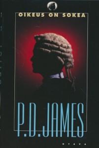 Oikeus on sokea, P. D. James