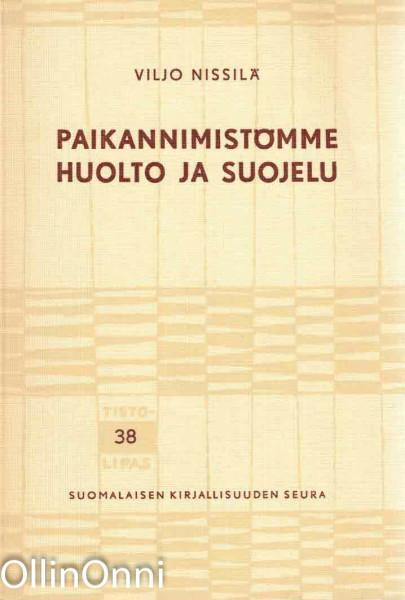 Paikannimistömme huolto ja suojelu, Viljo Nissilä