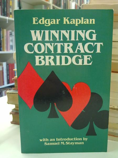 Winning Contract Bridge, Edgar Kaplan