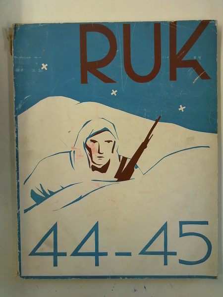 RUK 44-45 2.1.-9.3.40 ja 5.2.-27.4.40 Sotakurssit,  Rahikainen