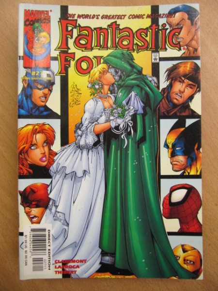 Fantastic Four Vol. 3 No. 27,
