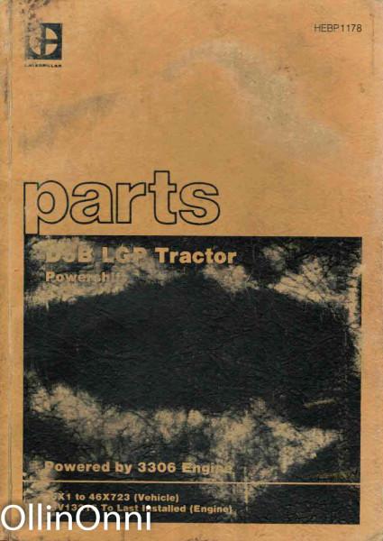 Caterpilla Parts Book - D5B Lgp Tractor, Ei tiedossa