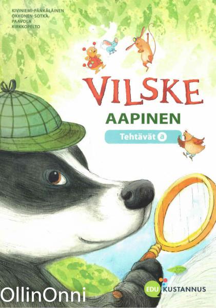 Vilske aapinen - Tehtävät a, Katri Kirkkopelto