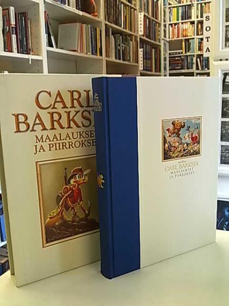 Carl Barksin maalaukset ja piirrokset : 1971-1990 / toimitus ja artikkelit: Geoffrey Blum ; [suomenkielisen laitoksen toimitus: Hertta Hulkkonen ... et al.] ; [artikkelien suomennos: Antti Hulkkonen], Carl Barks
