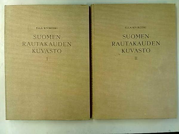 Suomen rautakauden kuvasto I-II, Ella Kivikoski