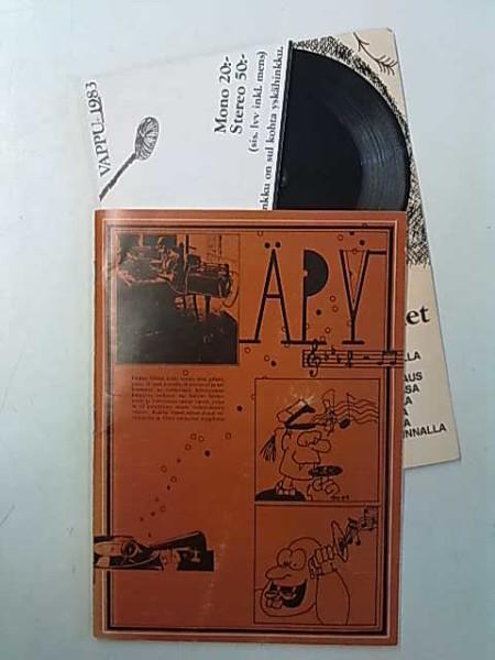 Äpy 1983 ja mukana Äpy-foni (ja mukana neula soittamista varten, toimii!), Seppo Sivula